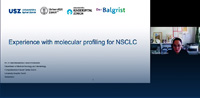 Experience with molecular profiling for NSCLC