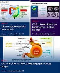 CGP u kolorektalnom karcinomu, karcinomu želuca i ezofagogastričnog spoja